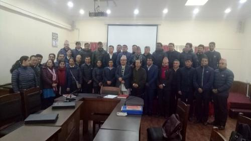 Training on Construction Accounting for Tax Officers